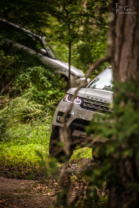 The Land Rover course was a popular stop.