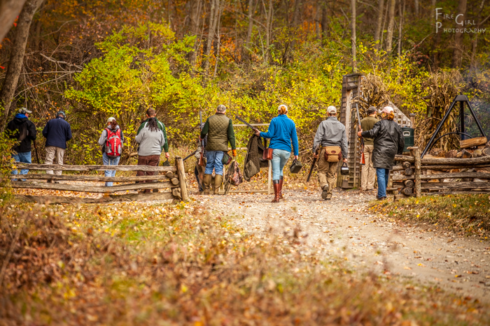 Fall days are made for campfires and sporting clays.