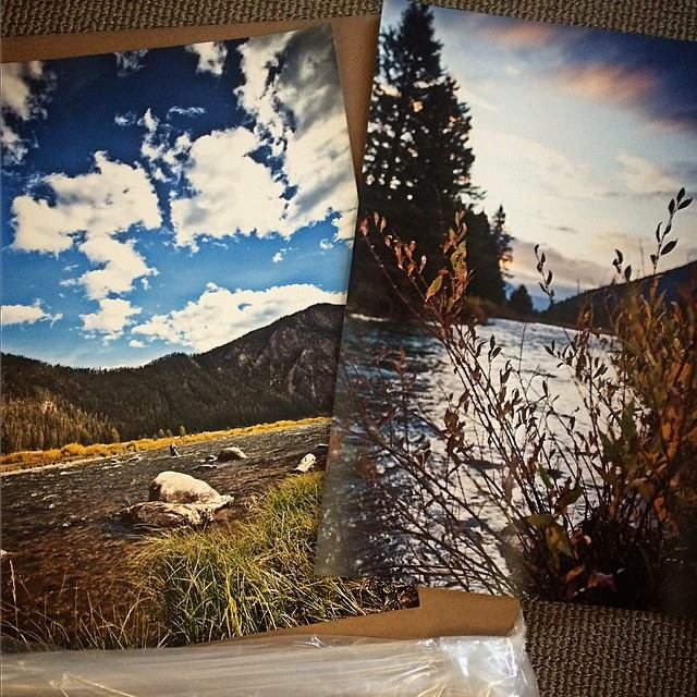"Two 20"" x 30"" prints heading to a good home."